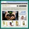 Shop on-line, vista da personal computer, pagina principale