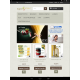 Shop on-line, vista dal tablet, pagina principale