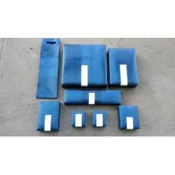 Serie Bicolore blu