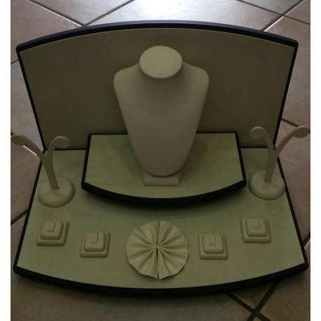 Mini vetrina in similpelle completa