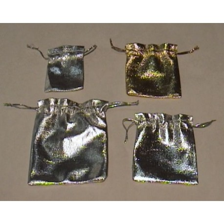 Sacchetti tessuto oro argento